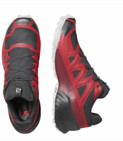 Solomon Speedcross 5 Mens Red Black Trail Running Hiking Trainers Shoes 4130860