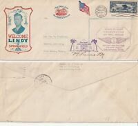 US 1928 FIRST FLIGHT FLOWN COVER SAN ANTONIO TEXAS TO FORT WORTH TEXAS