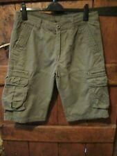 "NEW Jeans Wear Mens Brown Cargo/Combat Shorts 34"" waist NEW!"