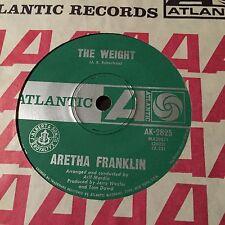 "ARETHA FRANKLIN - - THE WEIGHT - - 1969 Australian ATLANTIC 7""  Funk Soul"