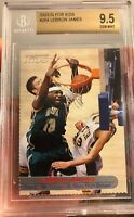 $150BV LeBRON JAMES Rookie 2003 SI For Kids GEM Mint 9.5 BGS Read Description