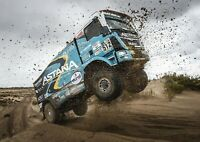 Awesome Truck Dakar Poster Size A4 / A3 Rally Racing Sports Poster Gift #12758
