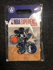 Disney Pin DS Mickey Mouse NBA Experience Basketball Uniform Dallas Mavericks