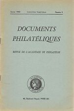 DOCUMENTS PHILATELIQUES + Revue de l'Académie de philatélie - 1960 N° 3 SUEZ