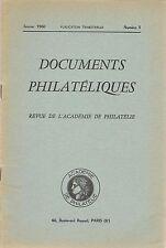 DOCUMENTS PHILATELIQUES + Revue de l'Académie de philatélie - 1960 N° 3 SUEZ