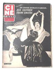 CINE-REVUE 22 mai 1953 AVA GARDNER FRANK SINATRA GARY COOPER