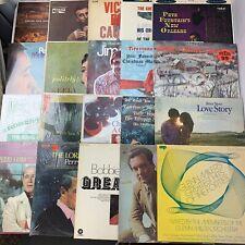 Lot of 20 Records Vinyl LPs Pop Easy Listening Christmas Big Band Jazz