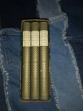 Vanity Fair William Makepeace Thackeray in 3 Volumes DeLuxe Edition 1937