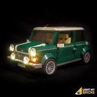 LIGHT MY BRICKS - LED Light kit for Lego Mini Cooper set 10242 Lego LED Light