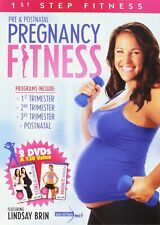 1st Step Fitness Pre & Postnatal Pregnancy Fitness Featuring Lindsay Brin - New