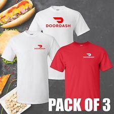 DOORDASH Dasher T-shirt - Pack of 3