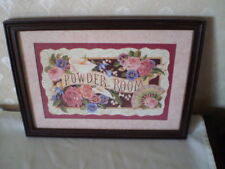 Home Interiors Framed Powder Room Picture - 14 1/4 X 10.5 ""