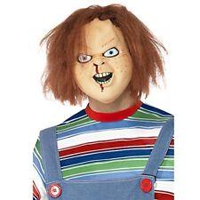 Smiffys Déguisement Homme Masque Latex Chucky Couvre toute la Tête ...