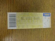 17/02/2001 Ticket: Rugby League, West Tigers v Sydney Roosters & Penrith Panther