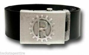 Rare Alchemy Rage Against the Machine Gear 100% Italian Leather Buckle Belt-New