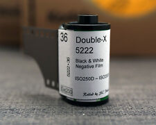 35mm-Kodak Eastman Double-X 5222 cine black & white film, 36exp (*5 rolls)