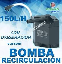 BOMBA INTERIOR ESQUINA 150L/H 3,5W RECIRCULACION AGUA OXIGENO ACUARIO TORTUGUERA