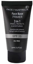 FACE OF AUSTRALIA - Face Base Foundation Primer - 3-in-1 - Oil Free - SPF 15