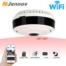 Jennov 360° Panoramic Fisheye Wireless IP 3D VR Security Camera Wifi IR SPY Cam