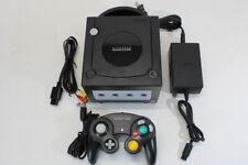 Nintendo GameCube Jet Black Gc Console Bundle Ngc Play Us Canada Region Games