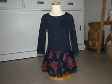 NEUw 104 Kleid Drehkleid Mädchen traumhaft Lieblingskleid langarm Festkleid
