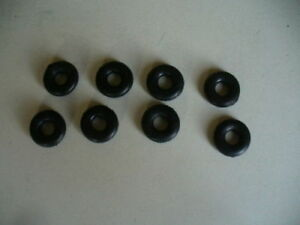 Replacement Minic / Triang tyres pack of 8 by  K & R Replicas