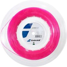 Babolat Synthetic Gut 1.25mm/17G Pink Tennis String 200m - Free UK P&P