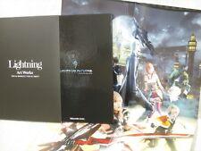 FINAL FANTASY XIII 13 Lightning Art Works w/Poster Japan PS3 Book Ltd
