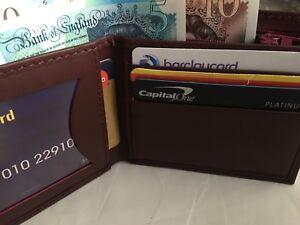 Wallets Volet Walet Money Case Leather Sheep Skin