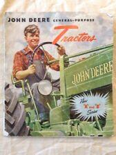 RARE Vintage 1930's John Deere Tractor And Farm Equipment Catalog Good Condition