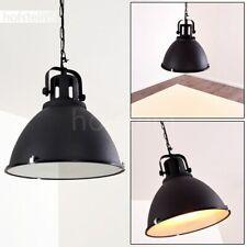 Hänge Lampen schwarz Wohn Schlaf Ess Zimmer Beleuchtung Vintage Pendel Leuchten