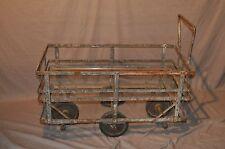 Vintage French Industrial Cart Restoration Hardware Style
