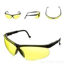Shooting Eye Glasses Protective Gear Black Lens Frame Gun Safety Uv Protection