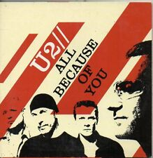 U2 - ALL BECAUSE OF YOU - CD SINGLE (COME NUOVO) Cardboard S.