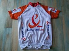 MAILLOT CYCLISTE VELO FRANCE TELECOM TAILLE L/4 TBE