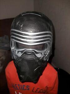 STAR WARS KYLO REN Voice Changer Mask Helmet With Hood Disney Store