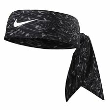 New Women Nike Printed Head Tie 2.0 Headband Tennis Running Basketball Black