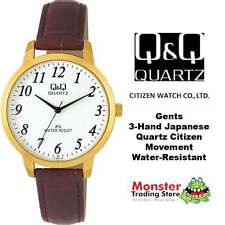 AUSSIE SELLER MEDIUM SIZE LEATHER BAND WATCH CITIZEN MADE C154J114 WARRANTY