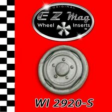 Silver Factory Stock Rim EZ Mag Wheel Insert Fits Strombecker Cars & More