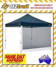Oztrail 3 Metre Mesh Wall Insect Netting Camping Gazebo Attachable Side Screen