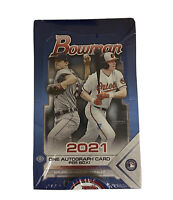 2021 Topps Bowman Baseball - Hobby Box FACTORY SEALED *1 Chrome Autograph*