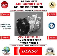 DENSO AIR CONDITION AC COMPRESSOR FEO A5412301511 for MERCEDES BENZ TRUCK ACTROS