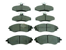 DAEWOO LEGANZA 2.0 1997-2003  FRONT & REAR BRAKE DISC PADS FULL SET NEW