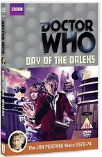 DR WHO 060 (1972) - DAY OF THE DALEKS TV Doctor Jon Pertwee - NEW R2 DVD