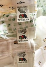 Lot 3 Vtg 60s Dead-stock Shorts Boxer by Fruit Of The Loom Size 30-36 Made in Us