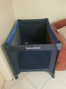 Baby love excellent condition portacot, foldable, comes with mattress.