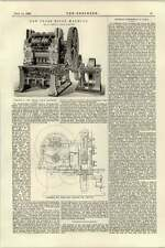1895 Dry Press Brick Machine W Johnson Leeds Section