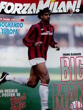 FORZA MILAN n°2 1992 [8A] Frank Rijkaard