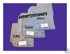1997 TO 2001 GENUINE OEM TOYOTA CAMRY FLOOR MATS IN GREY