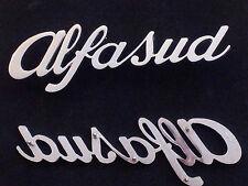 sigla ALFASUD alfa romeo scritta posteriore fregio originale rear sign  GENUINE